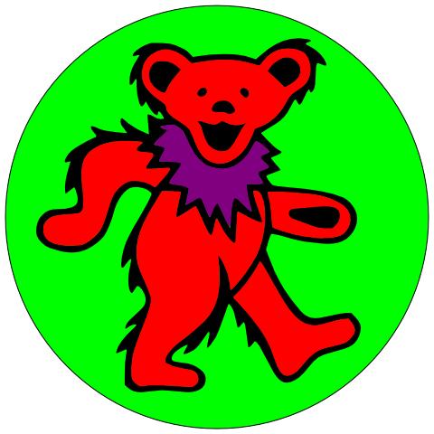 Grateful Dead Bear