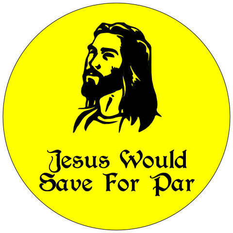 Jesus Saves For Par