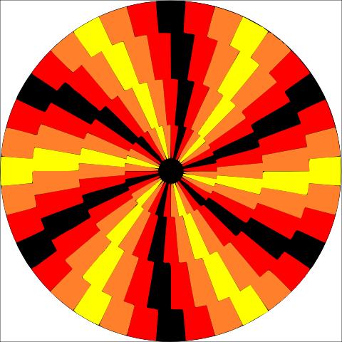 Zig Zag Spiral