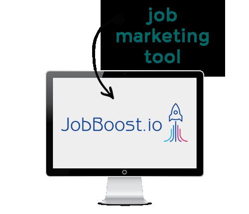 cpc optimised job marketing. jobboost.io