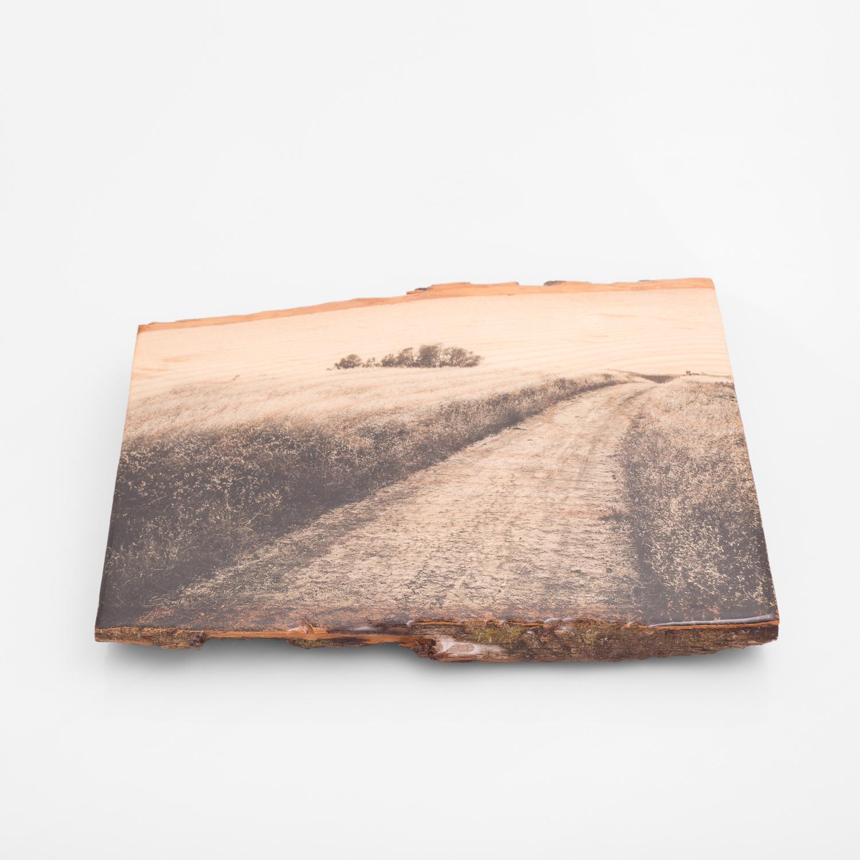 Mt Diablo, Flipped - One of a Kind - Woodprint