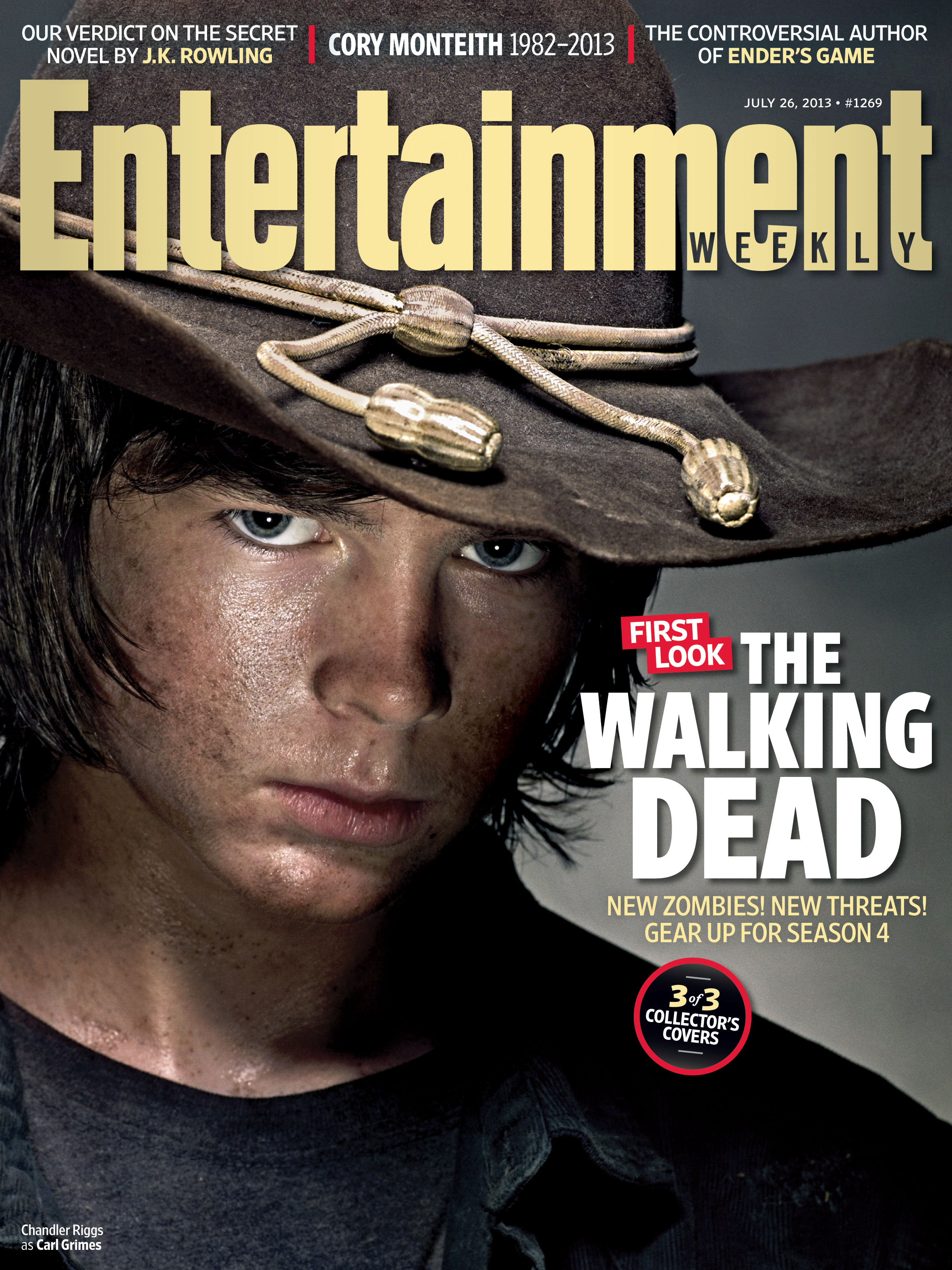 Chandler Riggs for Walking Dead