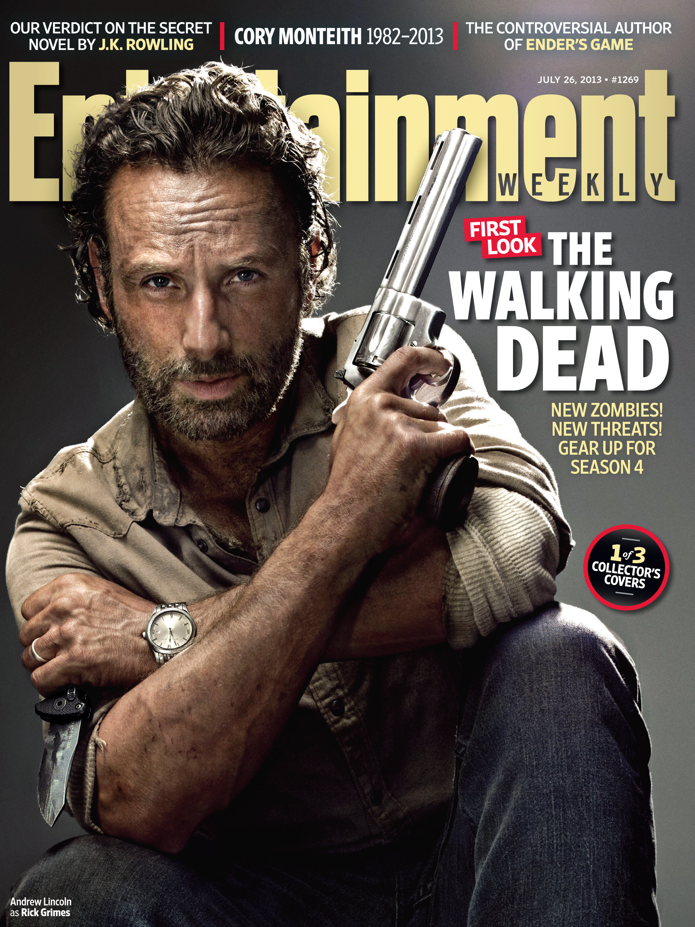 Andrew Lincoln for Walking Dead