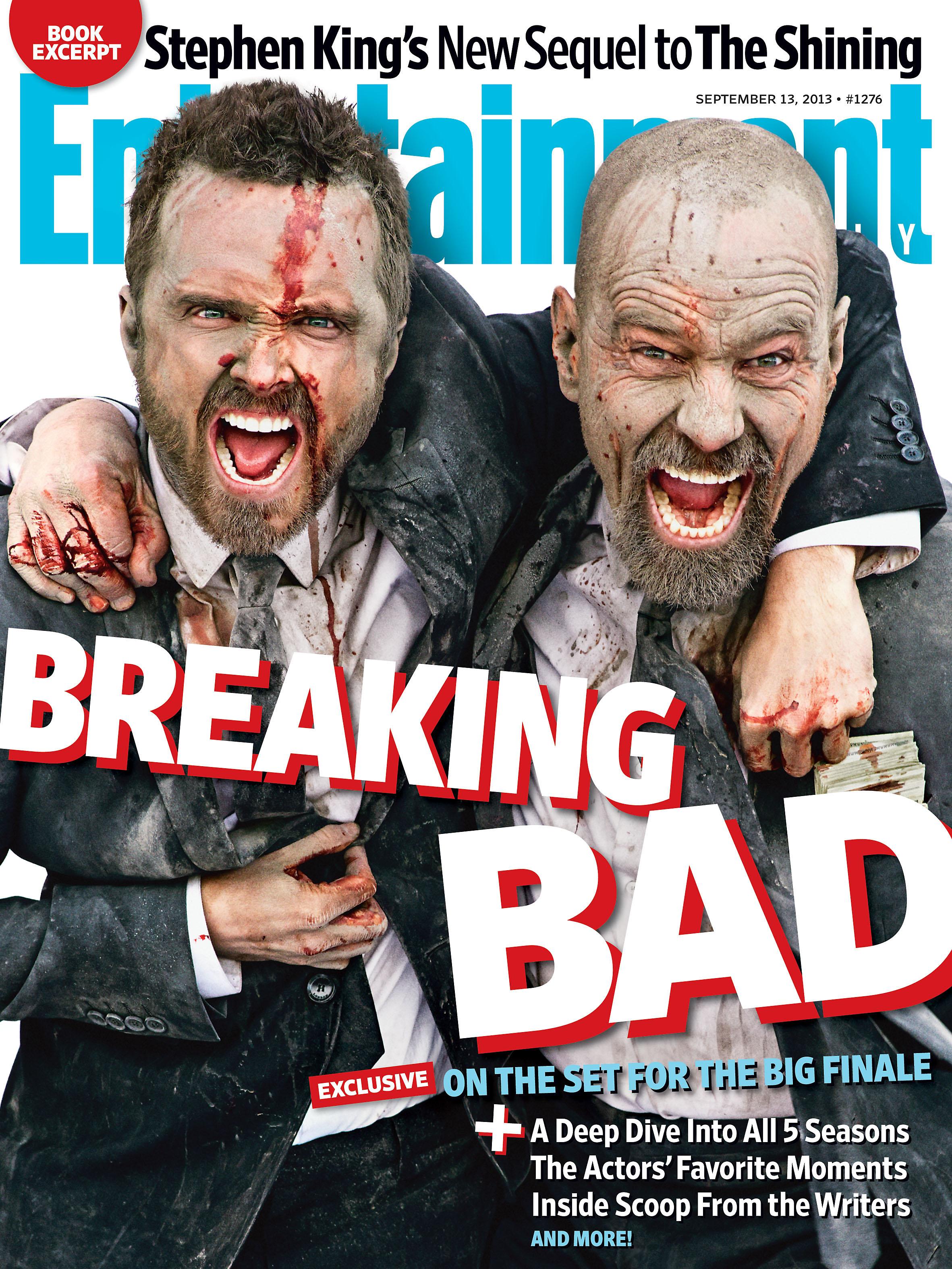 Aaron Paul & Bryan Cranston for Breaking Bad