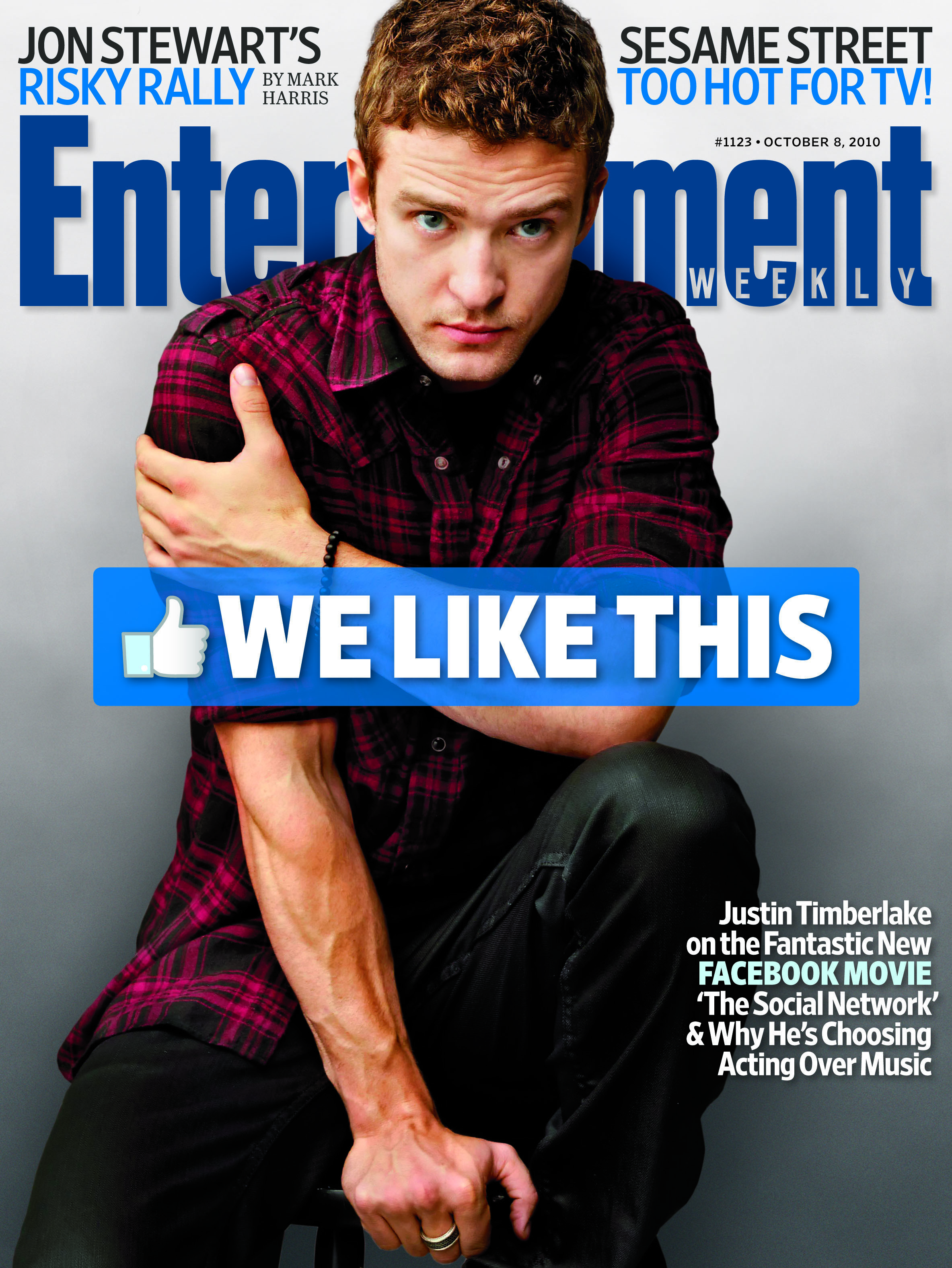 Justin Timberlake for The Social Network