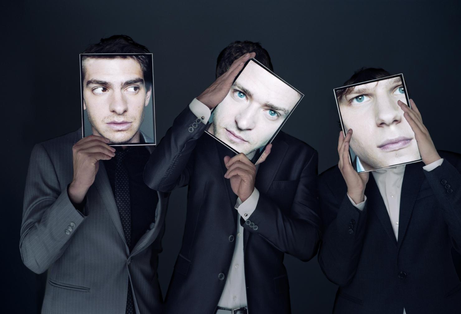 Andrew Garfield, Justin Timberlake, Jesse Eisenberg