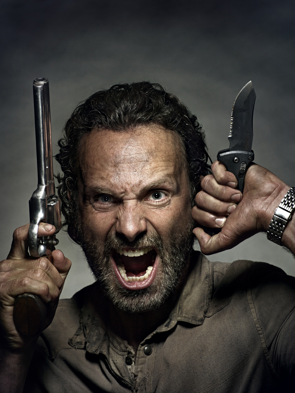 Andrew Lincoln for The Walking Dead