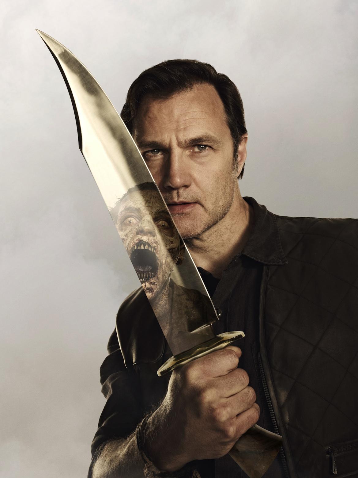 David Morrissey for The Walking Dead