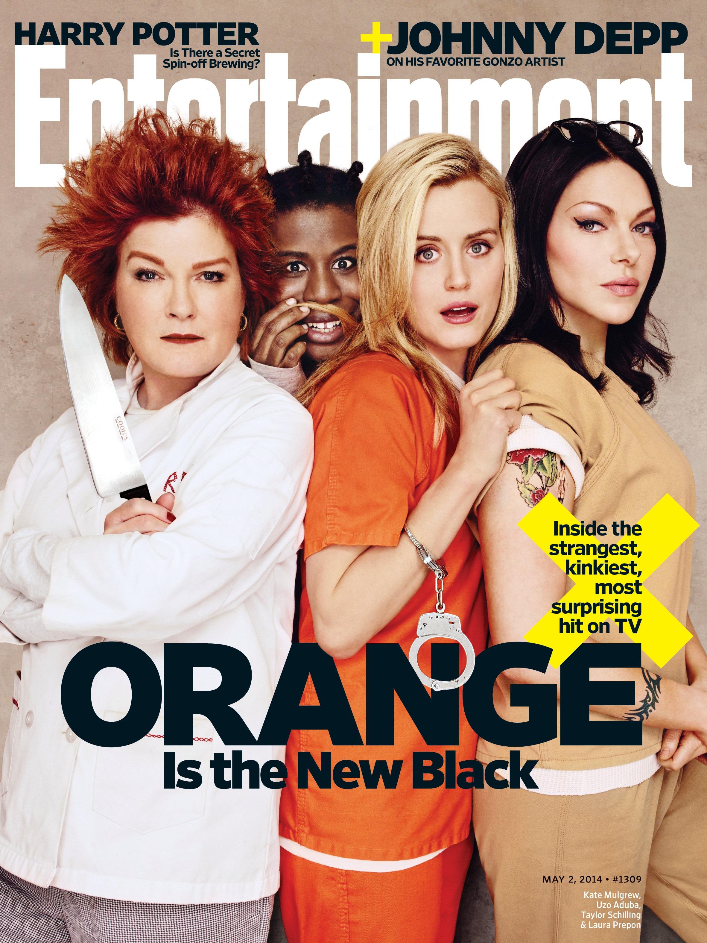 Kate Mulgrew, Uzo Aduba, Taylor Schilling, and Laura Prepon for Orange Is The New Black