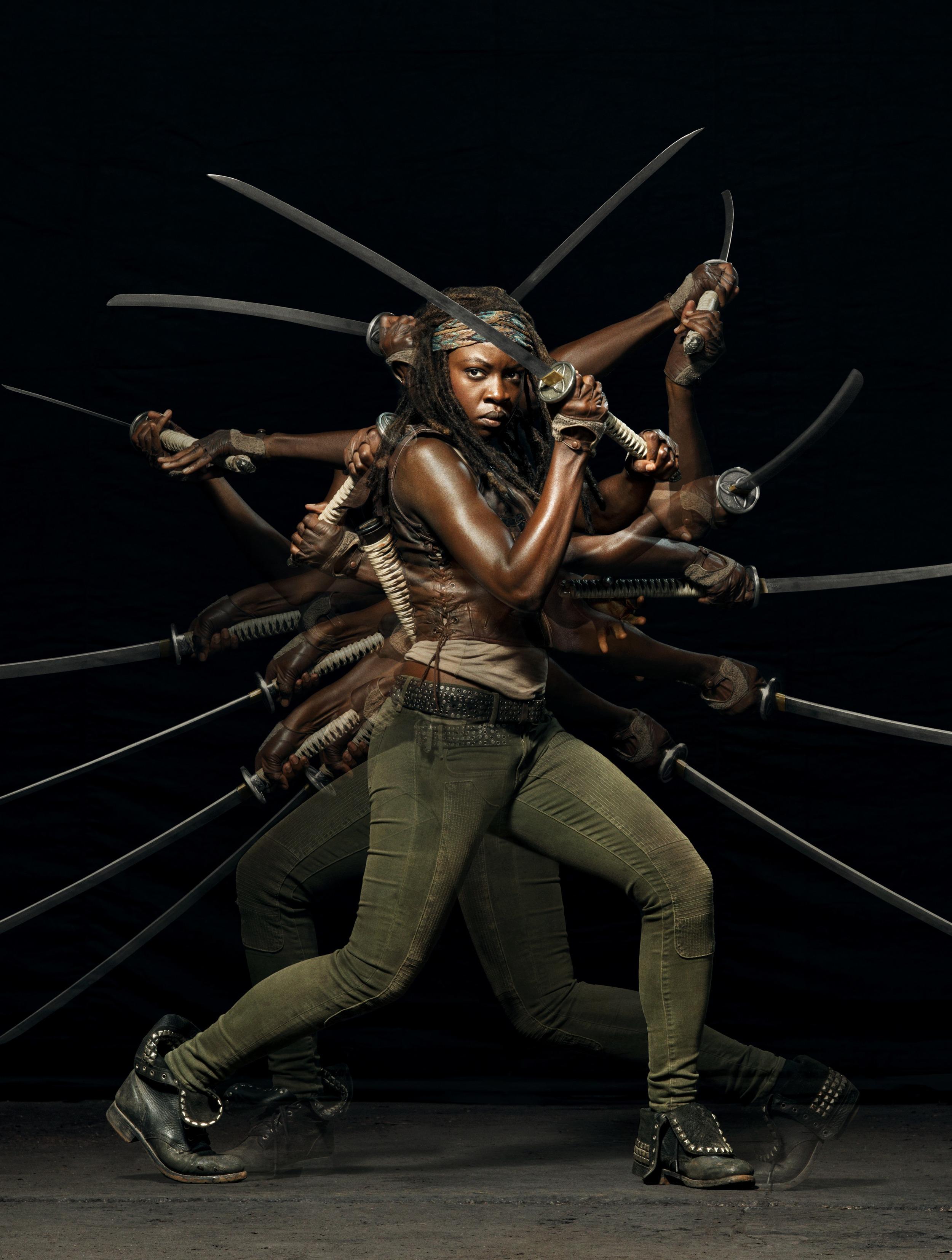 Danai Gurira for The Walking Dead