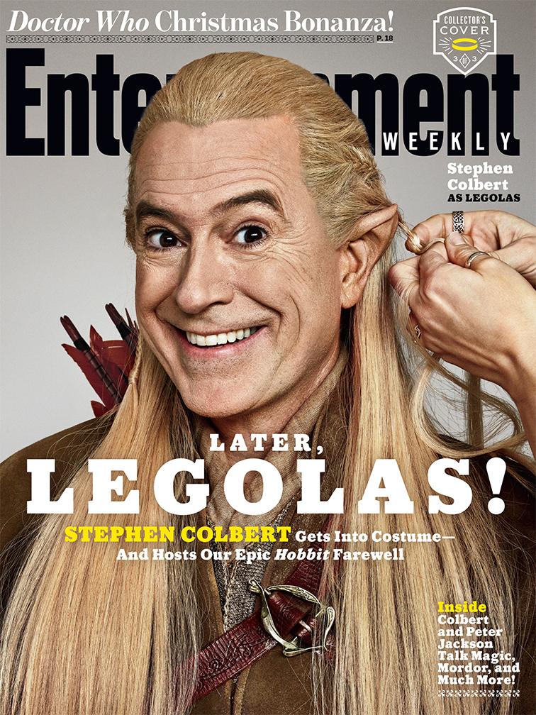 Stephen Colbert as Legolas