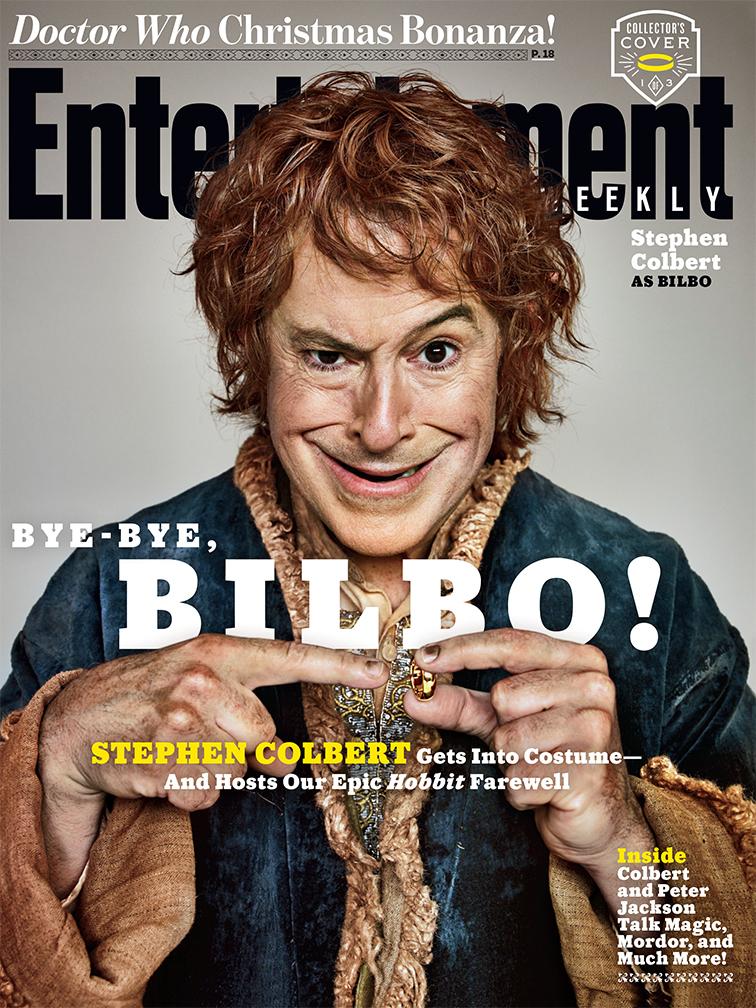 Stephen Colbert as Bilbo