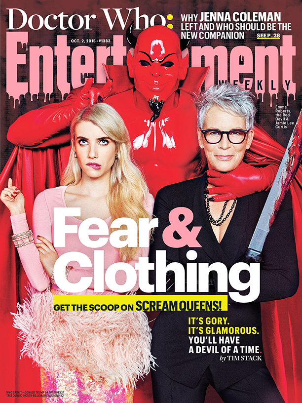 Emma Roberts, The Red Devil, Jamie Lee Curtis for Entertainment Weekly