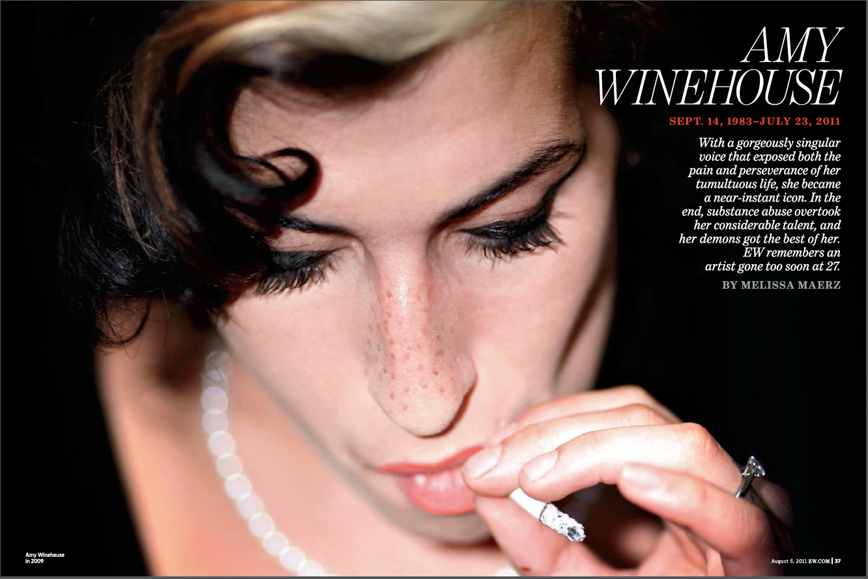 Amy Winehouse Obituary