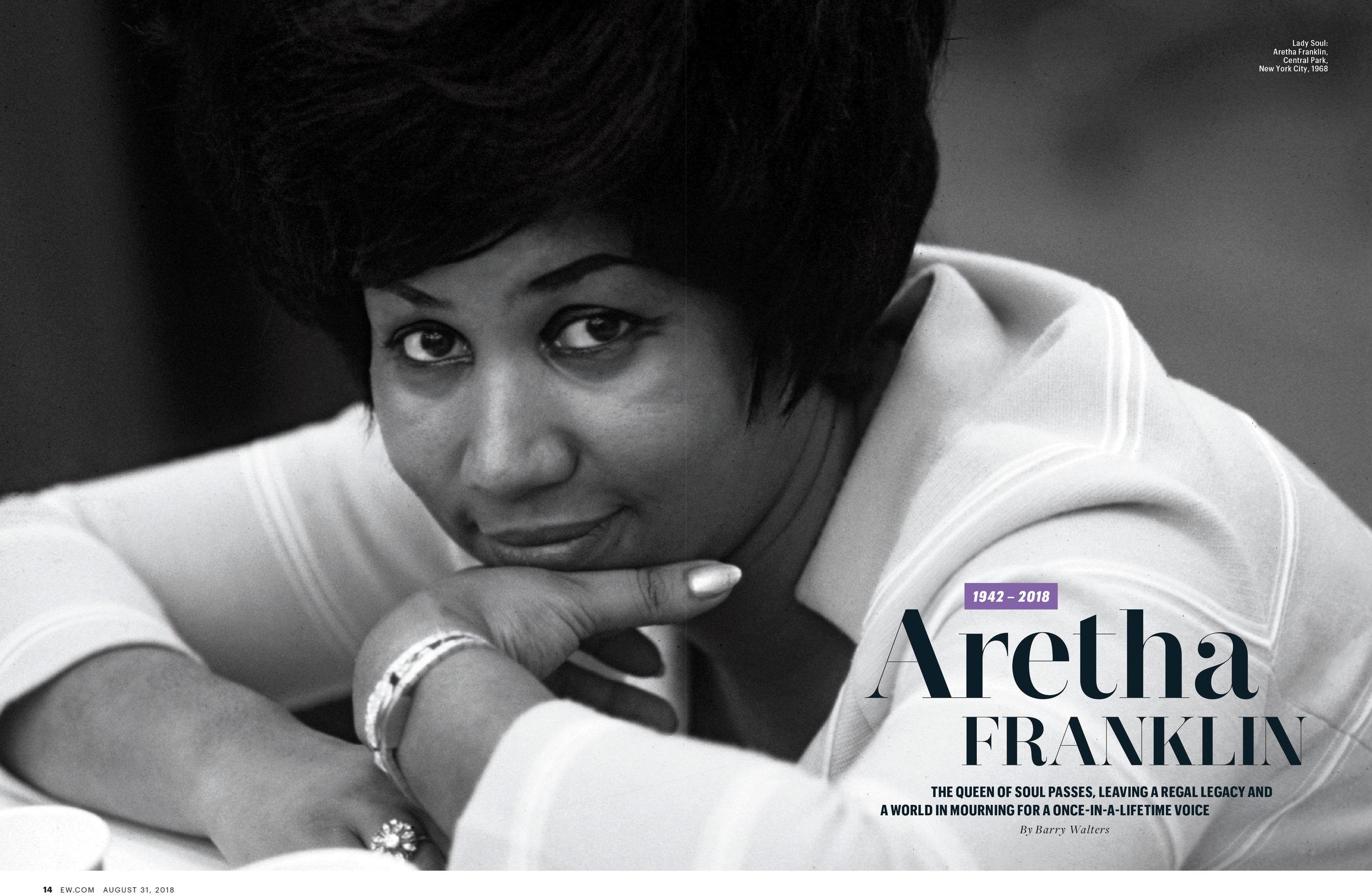 Aretha Franklin Obituary