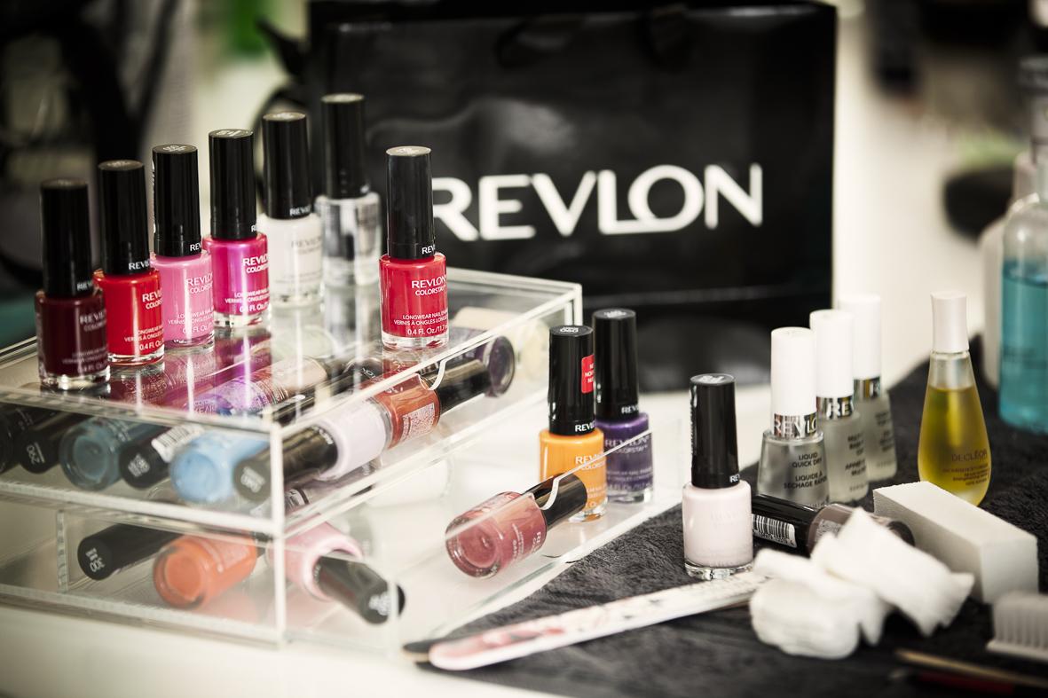 Revlon behind the scenes