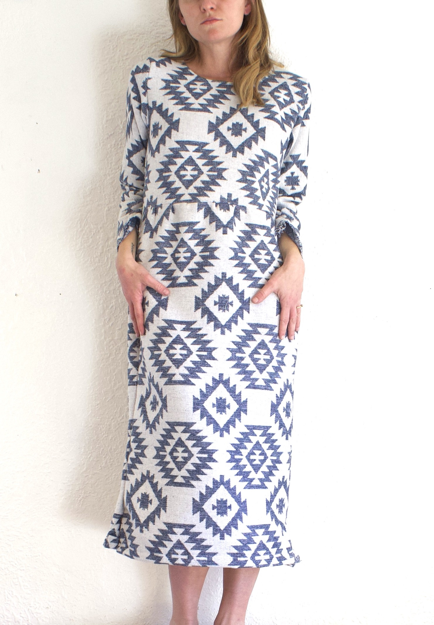 Patterned Flannel Dress - $98  + 40% off!