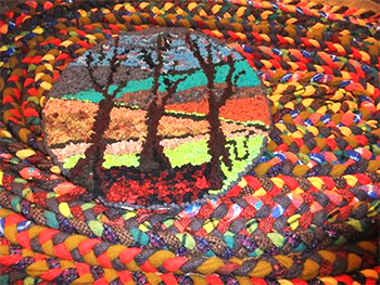 Renditions in Rags Hooked and Braided Rugs