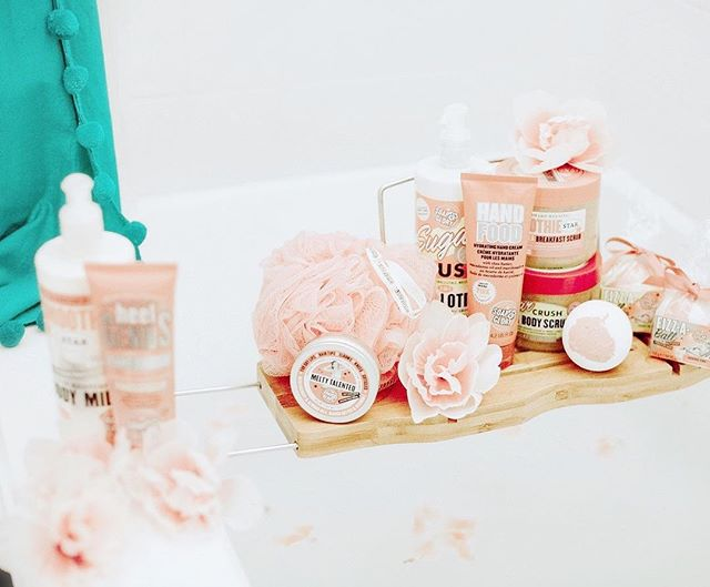 Whether it's an extra square of chocolate🍫 tonight or a signature rose and bergamot bath bomb from @soapandgloryusa 🌸, don't forget to give yourself a little extra love this weekend💕 // Photo by @terrimchugh for @soapandgloryusa