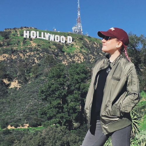 @skyypatricia The Hollywood Sign