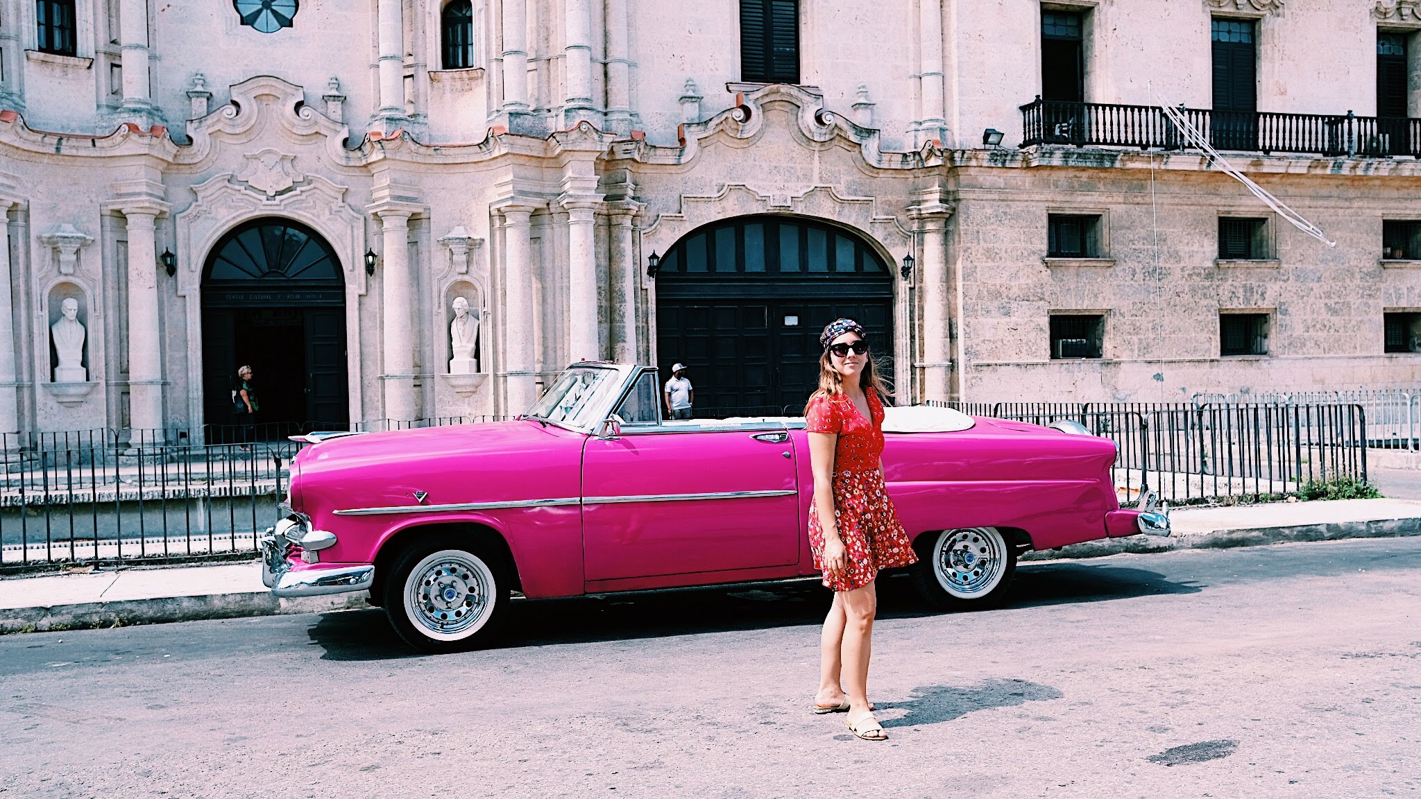 Among the vintage cares in Havana, Cuba