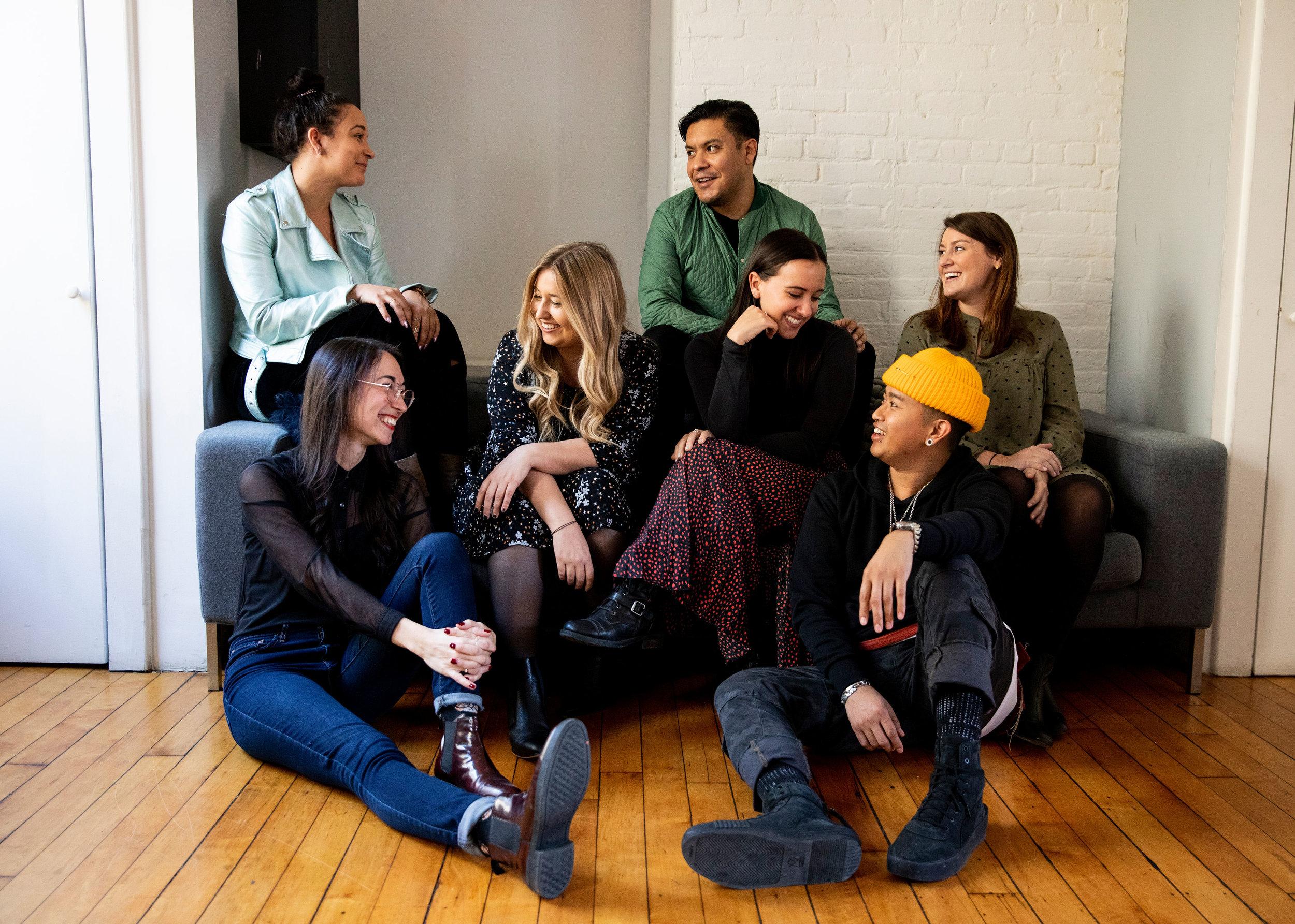Top: Laura Linsowe-Wilson, Juan Flores Middle: Alexis Decarvelo, Cori Lehrman, Katie Kuroski Bottom: Miriam Wakim, Francis Kenneth Anunciacion