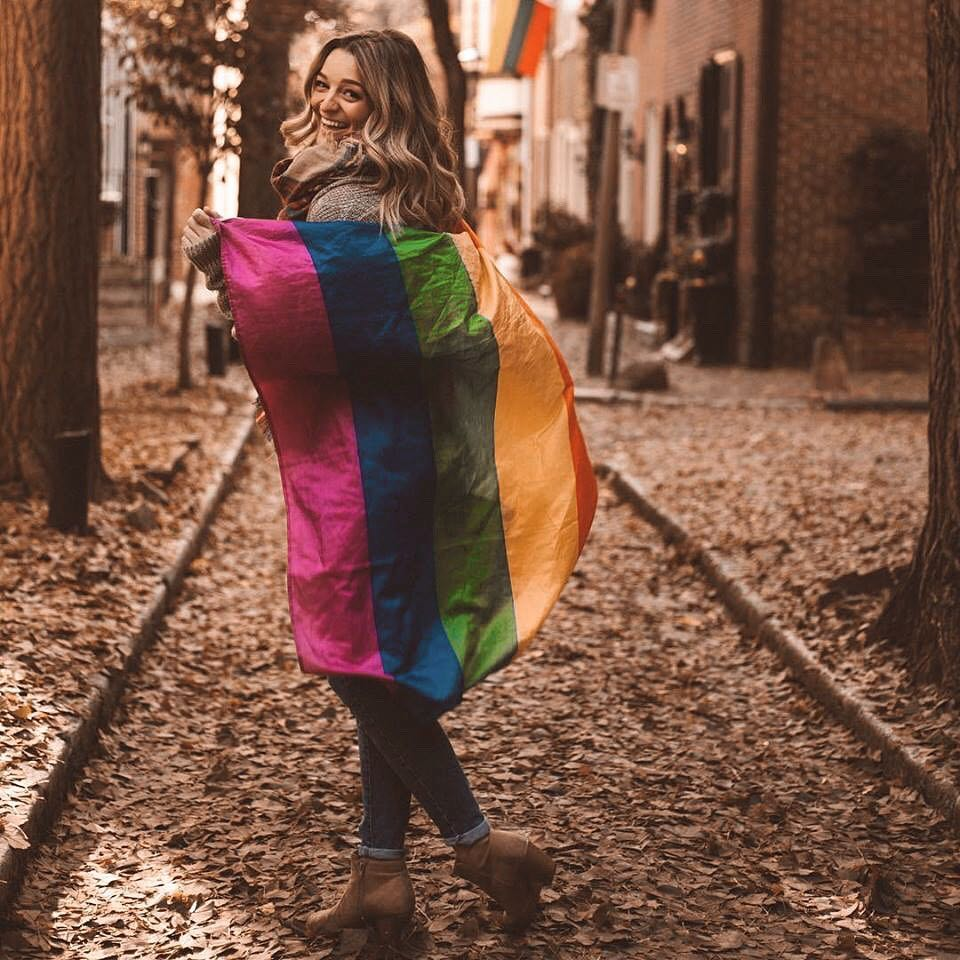 hi 👋🏻 i posted my coming out story on my blog! i hope you all love reading it as much i love being able to share it with all of you. giving you a safe space and comfort means the world to me. the link is in my bio. let me know what you think! i'll be responding to comments over there tonight ☺️🏳️‍🌈