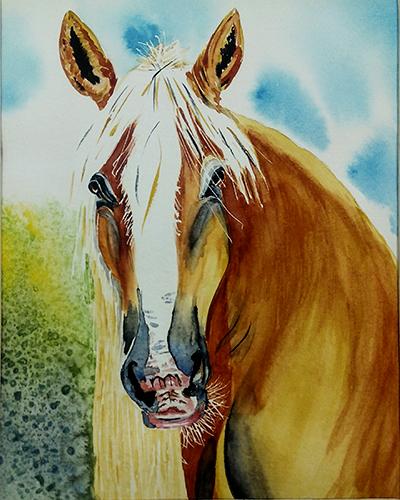 - watercolor by marie dudek brown