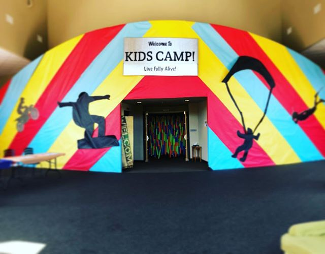 Are you read to LIVE FULLY ALIVE? Kids Camp starts tomorrow and we can't wait to see you there!