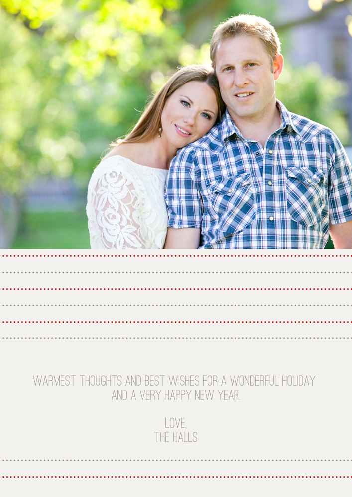 Warmest Thoughts Holiday Card
