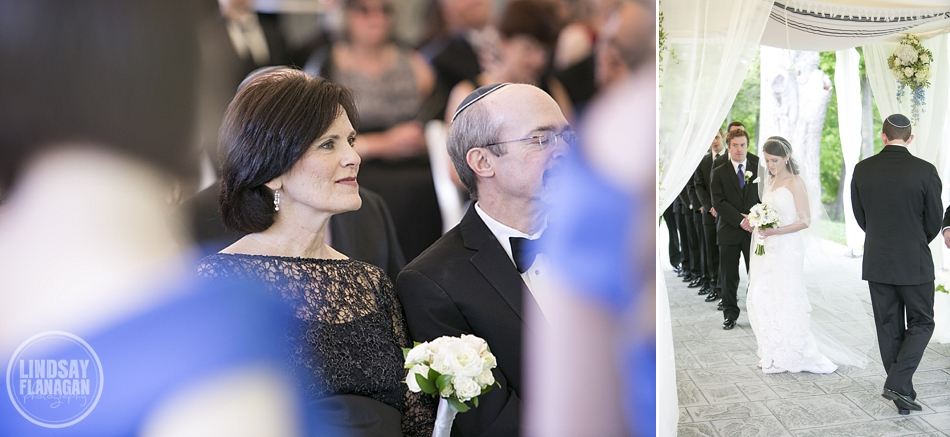 Jewish wedding ceremony at The Riverview in Connecticut