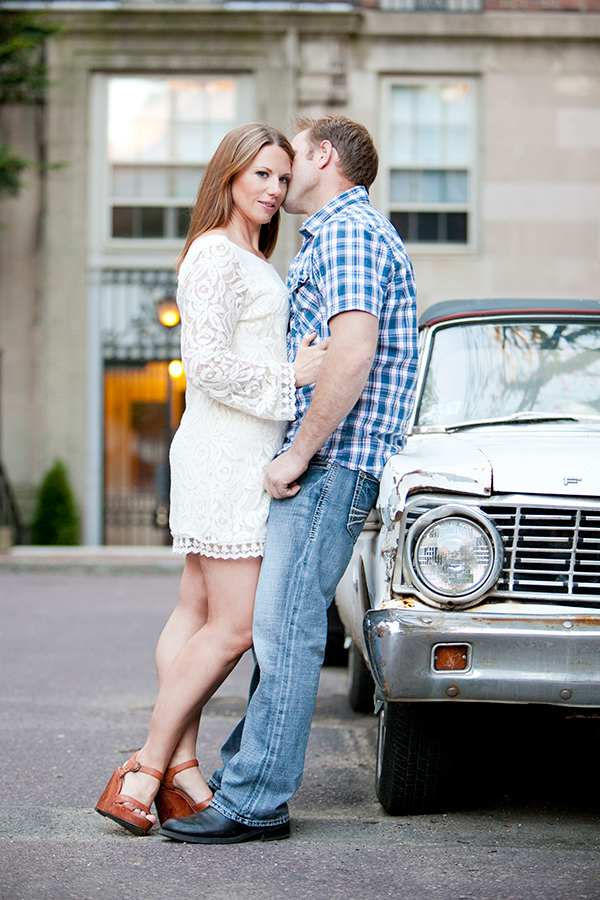 Beacon Hill Boston Engagement