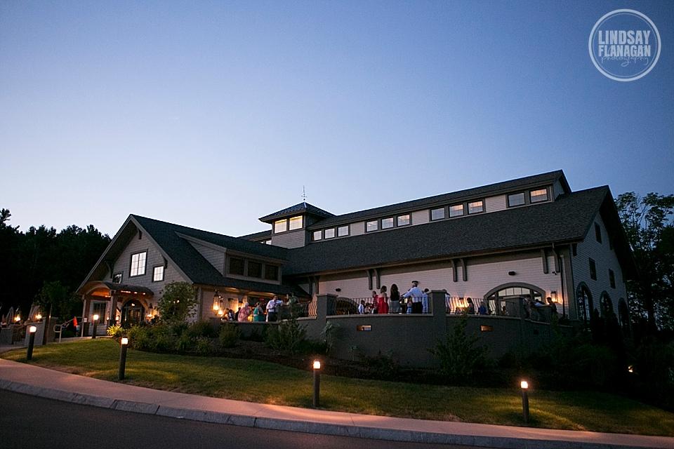 LaBelle Winery Wedding Night Exterior