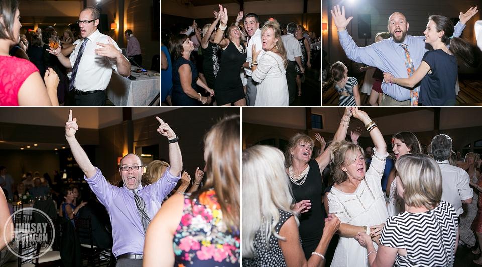 LaBelle Winery Wedding Reception Dance Floor