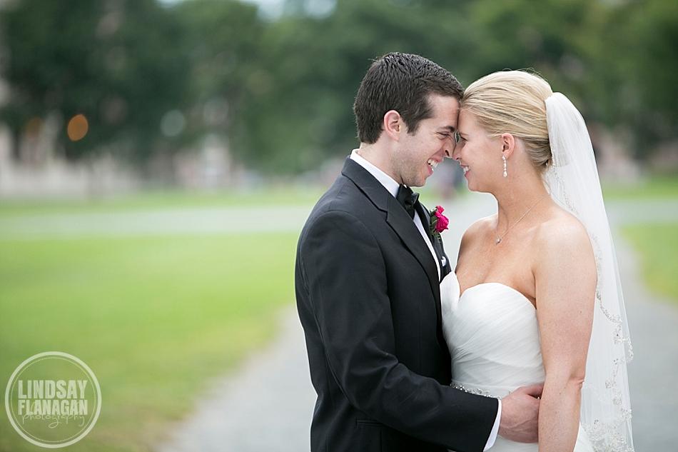 Dartmouth College Hanover New Hampshire Wedding Bride Groom
