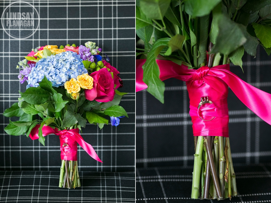 Hanover Inn New Hampshire Wedding Bright Colorful Bouquet Summersweet Floral