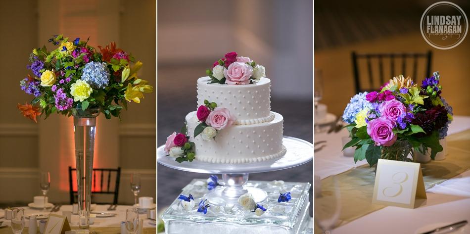 Hanover Inn New Hampshire Wedding Details Centerpiece Cake