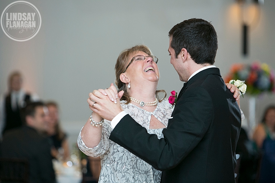 Hanover Inn New Hampshire Wedding Mother Son Dance