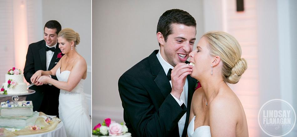 Hanover Inn New Hampshire Wedding Cake Cutting