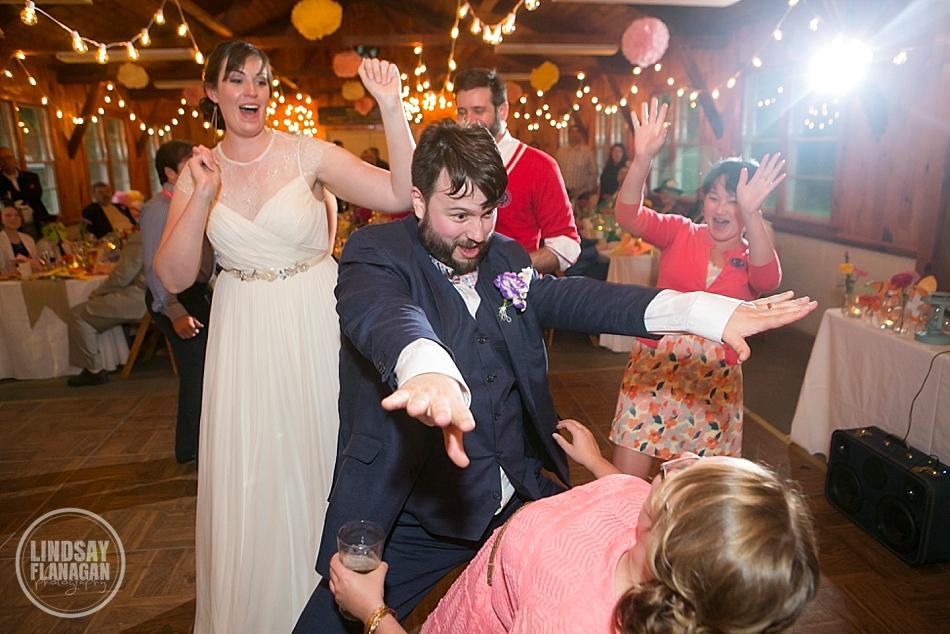 Rustic-Vermont-Camp-Wedding-Reception