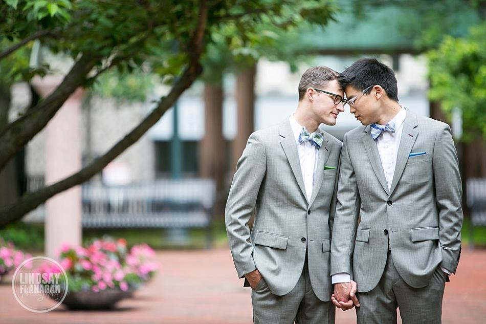 Multicultural-Arts-Center-Cambridge-Same-Sex-Wedding-Portrait