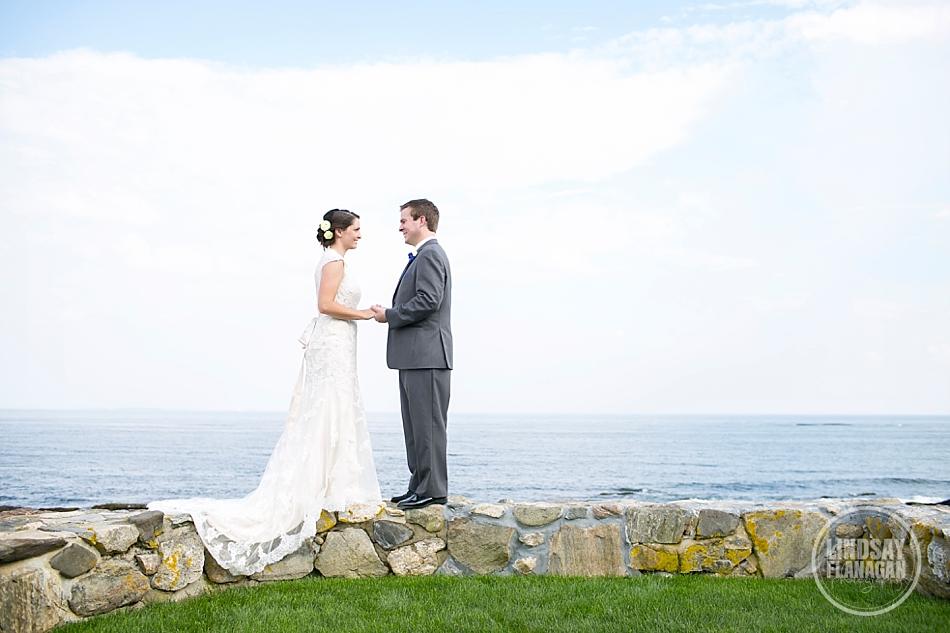 Rye-New-Hampshire-Tented-Wedding-Bride-Groom-Portrait