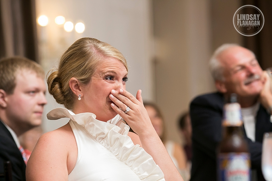 Alden-Castle-Massachusetts-Wedding-Reception-Bride-Speech