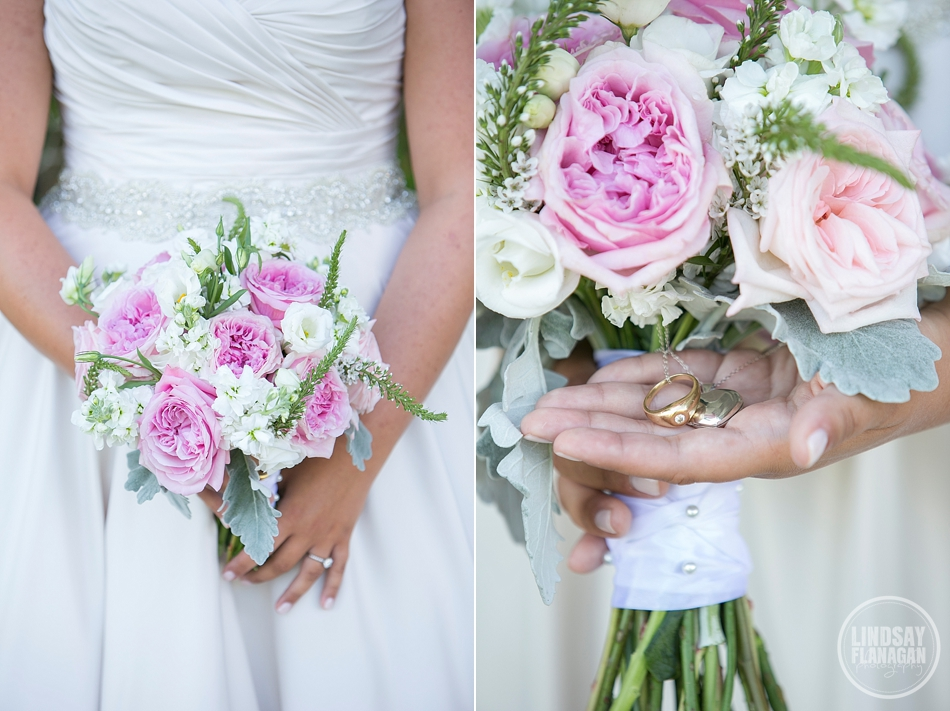 Sarah and Jonathan's  Wolfeboro Inn Wedding  | Flowers by  Linda's Flowers