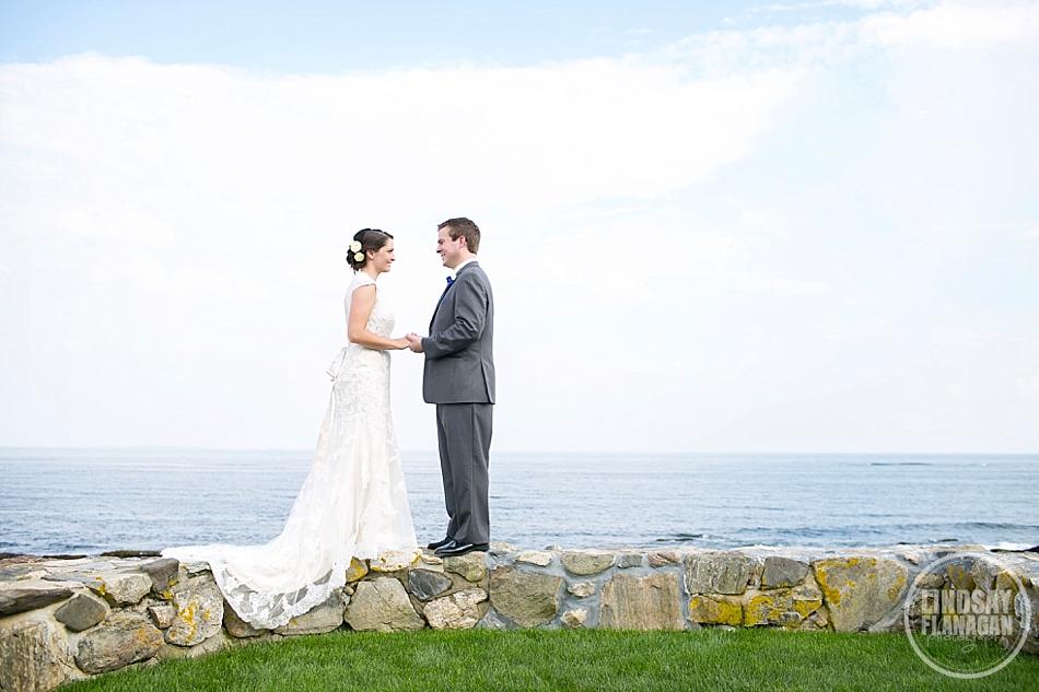 Rye New Hampshire Beach Wedding Photography