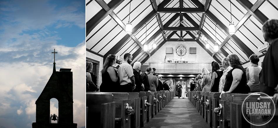 Rye New Hampshire Wedding Ceremony St. Theresa's Church