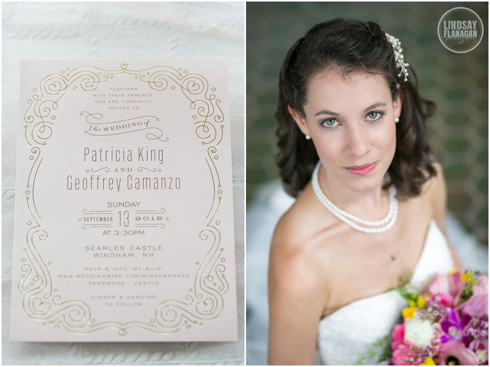 Searles Castle New Hampshire Wedding by Lindsay Flanagan Photography | www.lindsayflanagan.com