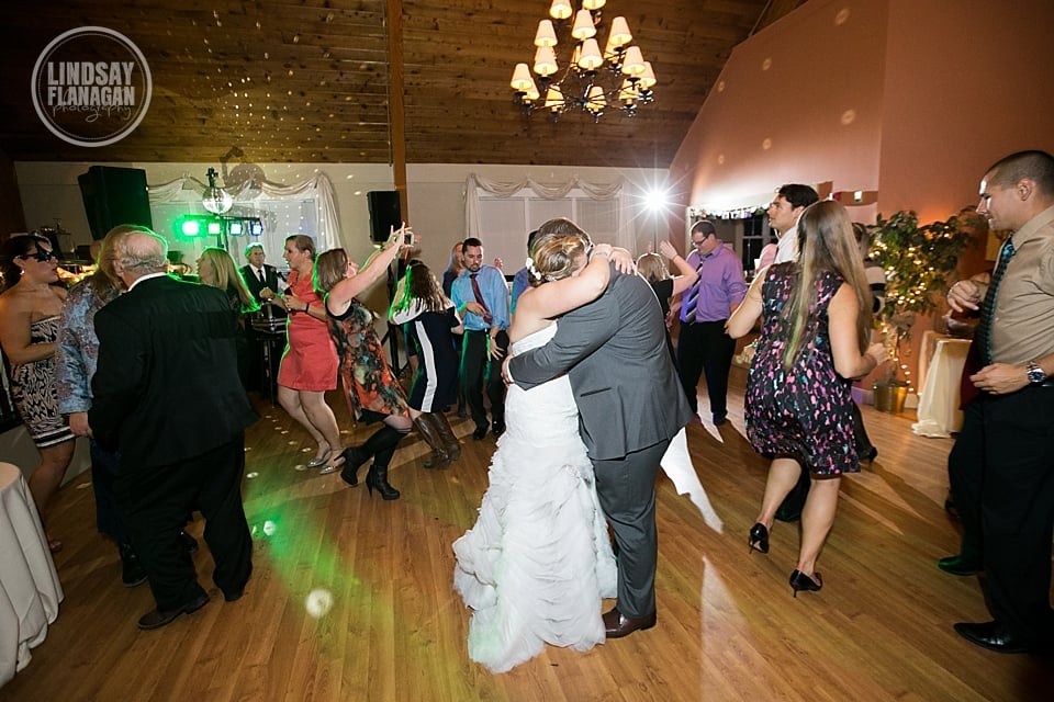 Shattuck Country Club Wedding Couple Dancing