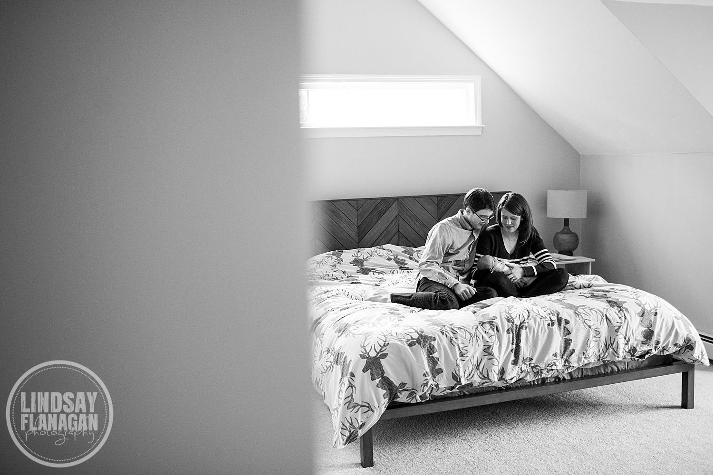 Massachusetts Documentary Newborn Photography