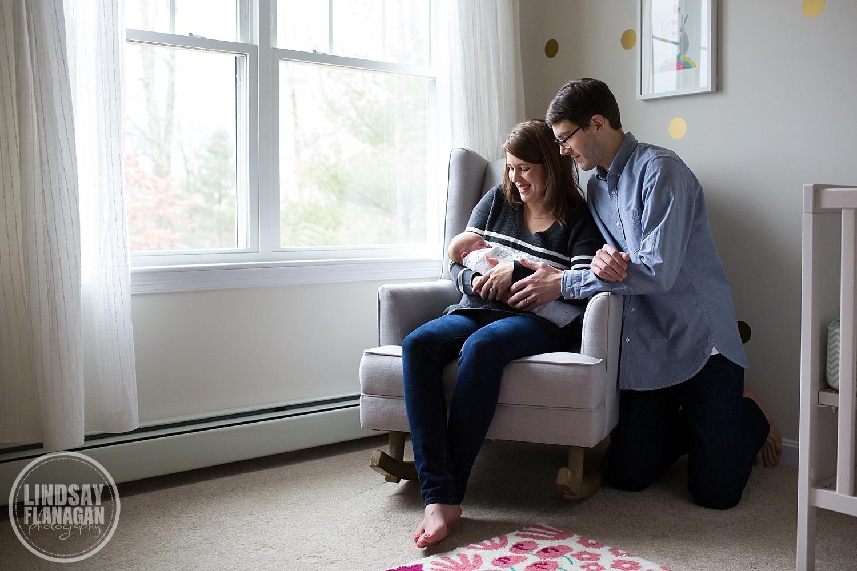 Newborn Baby Documentary Lifestyle Photography Massachusetts